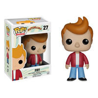 Futurama Fry Pop! Vinyl Figure - Funko - Futurama - Pop! Vinyl Figures at Entertainment Earth