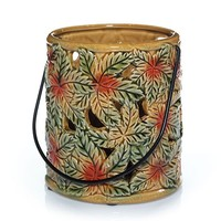 Brilliant Leaves : Jar Candle Holder : Yankee Candle