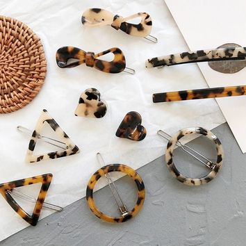 Vintage Tortoise Shell Hairclips
