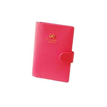 ONETOW Hasp Opening PU Leather Passport Holders Lady Loved Highend Travel Passport Cover Bags