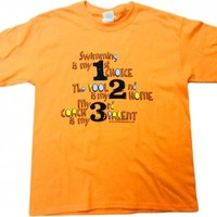 Action Accents - we've got what swimmers want.: Swimming is My 1st Choice...Tee