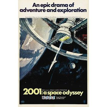 2001: A Space Odyssey Poster//2001: A Space Odyssey Movie Poster//Movie Poster//Poster Reprint