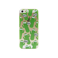 Googly Cactus iPhone Case