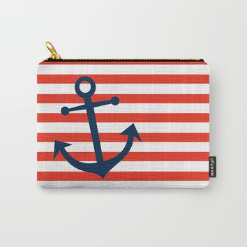 Nautical Anchor Carry-All Pouch by All Is One