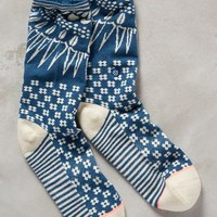 Stance Opehlia Socks in Blue Motif Size: One Size Socks