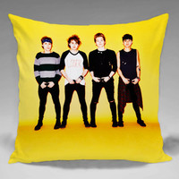 5 SOS Club  - Square and Regtagular Pillow Case One Side/Two Side.
