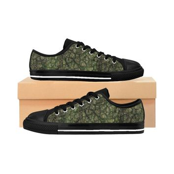 Women's Sneakers Earth Scale Print shoes