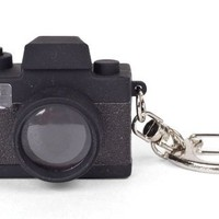 Kikkerland KRL15TC Camera LED Keychain with Sound