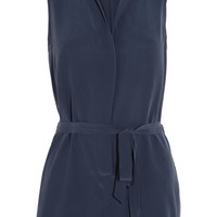 Equipment - Earl washed-silk playsuit