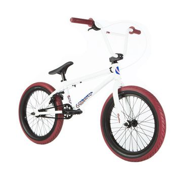 FIT 2019 EIGHTEEN PEARL WHITE COMPLETE BMX BIKE