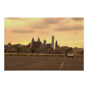Philadelphia Skyline Photo Poster