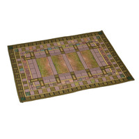 Frank Lloyd Wright Martin House Skylight Tapestry Placemat
