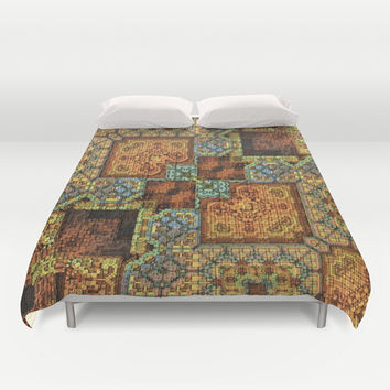 Patchwork Pattern Duvet Cover by Lyle Hatch