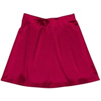 Internet Girl Software Red Mini Skirt