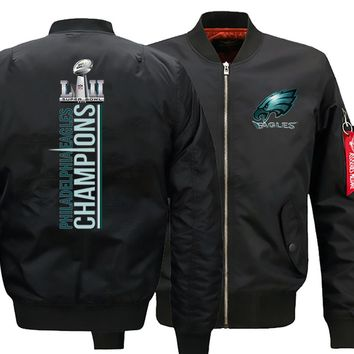 Philadelphia Eagles Ma-1 Bomber Jacket Mens | Flight Jacket (3 Colors)