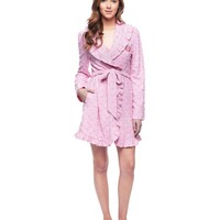 Soft Hush Sugar Hearts Robe by Juicy Couture,