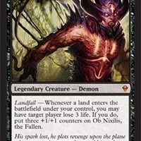 Magic: the Gathering - Ob Nixilis, the Fallen (107) - Zendikar