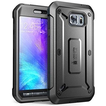 Samsung Galaxy S6 Active Case, Holster Case with Built-in Screen Protector case