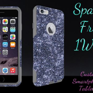 iPhone 6 Case - OtterBox Commuter Series - Retail Packaging - 4.7 iPhone 6 Glitter Smoke/Grey
