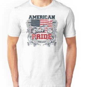 'US CHOPPER - Biker Caferacer Motorcycle Shirt Motive' T-Shirt by Super3