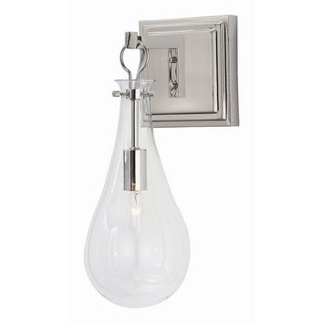 Arteriors Home Sabine Polished Nickel Sconce