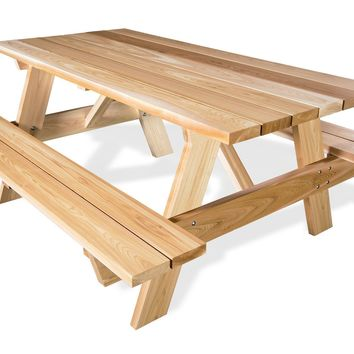 Cedar 6 Ft Picnic Table