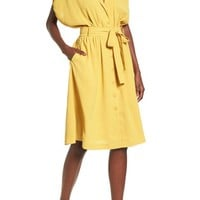 Chriselle x J.O.A. Cocoon Sleeve Dress | Nordstrom