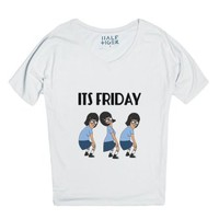It's Friday-Unisex Snow T-Shirt