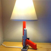 NES Nintendo Zapper lamp desk light sculpture