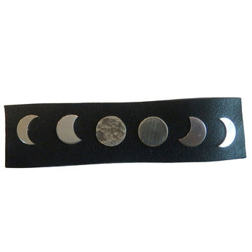 Moon Phase Stud Earrings