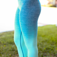 Get Fit Leggings - Mint