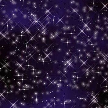 STARRY NIGHTS SKY PRINTED PHOTO BACKDROP 10x10 - LCPC1215 - LAST CALL