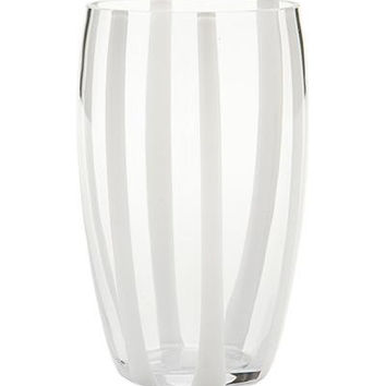 Gessato Beverage Glass S/2 | Transparant
