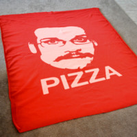 DFTBA Records :: Pizza John Fleece Blanket