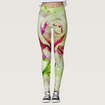 Rose Colored Women's Leggings