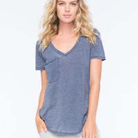 OTHERS FOLLOW Womens Pocket Tee | Knit Tops & Tees