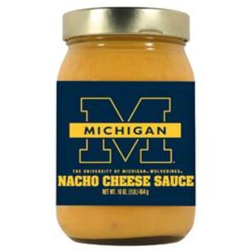 Michigan Wolverines NCAA Nacho Cheese Sauce (16oz)