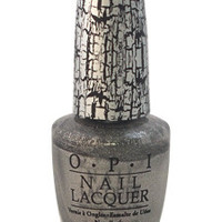 nail lacquer - # nl e62 silver shatter by opi