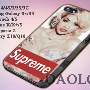 Case for iPone 4/4S/5/5S/5C, Samsung Galaxy S3/S4, iPod Touch 4/5 design sexy supreme