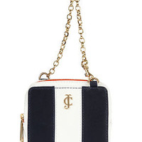 Juicy Couture Handbag, Stripe Leather Phone Wristlet - Tech Cases & Accessories - Handbags & Accessories - Macy's