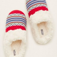 Aerie Women's Cozy Slippers (Red)