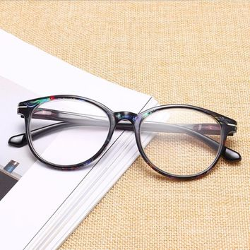 0258cefb53eb Fashionable Style Women Men Vintage Round Reading Glasses Readers +1.0 -  +4.0