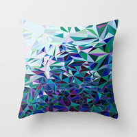Starfall Throw Pillow by House of Jennifer