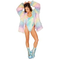 Pastel Princess Coat
