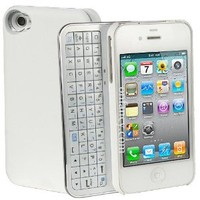 Sliding Black Bluetooth Keyboard Iphone 4/4s Case