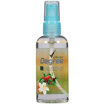 Degree Natureffects Orange Flower & Cranberry Body Mist, 3oz - Walmart.com
