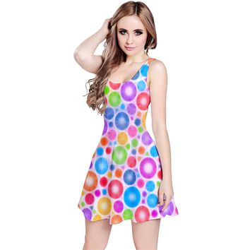 Candy Color's Circles Reversible Sleeveless Dress