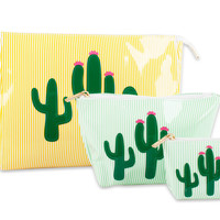 Cactus Cosmetic Pouch