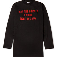 Vetements - Oversized Printed Cotton-Jersey T-Shirt