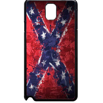 Confederate Rebel Flag Painting For Samsung Galaxy Note 3 Case ***